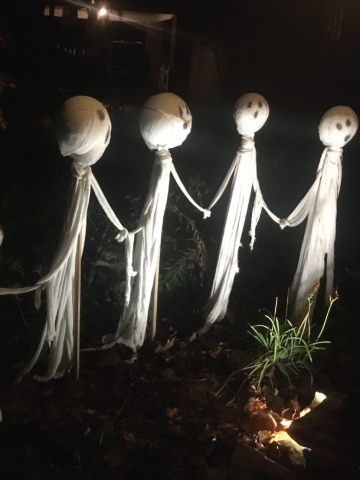 Ghastly Decorations for Halloween